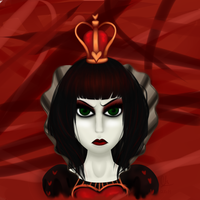 The Queen of Hearts by CloudBrownie
