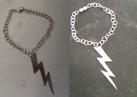 Bracelet thingy by RegallyFlawed