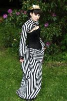 Victorian stripe by alisab-stock