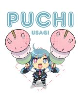 Puchi Usagi dango by Charln