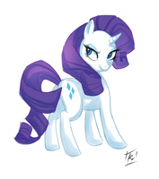 Rarity by kathrynlayno