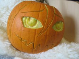 Grell pumpkin by ColorPixie