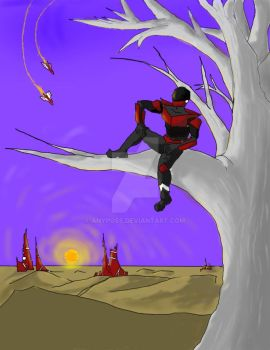 Guy-hanging-in-tree.share by anyposs