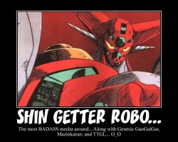Tribute to Shin Getter Robo... by Hando1