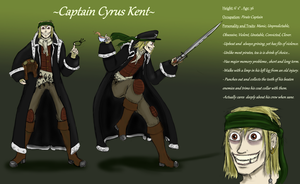 Captain Cyrus Kent Reference by Cynthetic-art