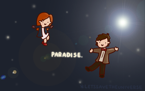 Paradise - Wallpaper by LetsSaveTheUniverse