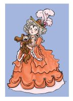 Rococo Lady by fossick
