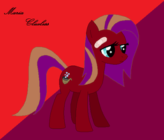 Pony OC: Maria Clueless by Crystal-Cookie-22