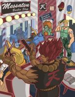 Street Fighter - Barber Shop by PoucasTrancas