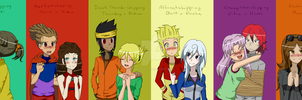 Element's Couples by adricarra