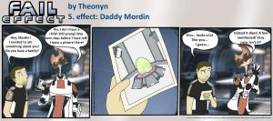 Fail Effect 5 - Daddy Mordin by Theonyn