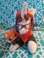 Paw Prints and Foxy 2 by Gracyn