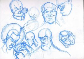 More faces by Harvey-Dent