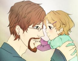 Daddy's Little Girl by ChibiKinesis