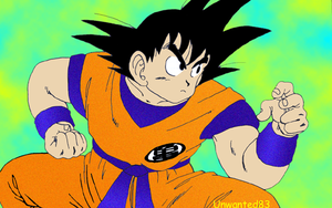 'Unwanted83'Son Goku 003 by Unwanted83