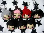 GOT7 chibi plushies by raeshilin