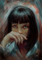 Mia Wallace by fishglow