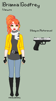 ME - Brianna Reference Sheet by porcelian-doll