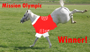 Winner of Mission Olympic by ponyhallo1