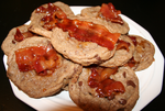 Chocolate Chip Candied Bacon Jack Daniels Cookies by SoarinPie