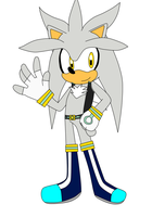 Silver  Sonic Boom by anubist-the-cat1