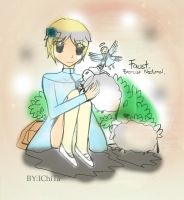 EN- With The Sheep by IChiTa--WiYa