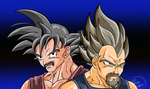 Old Saiyan Men by RebArc