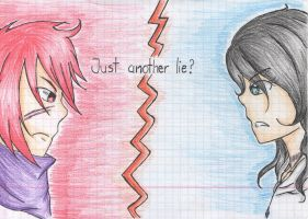 Just another lie? by MiraineChan