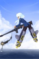 strike witches robote version by barbariank