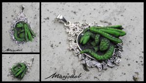 Dragon pendant by margotkab