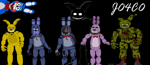 Generations of Bonnie - Five Nights At Freddy's by J04C0