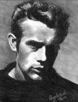 James Dean by angelam2011