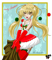 Merry Christmas 2009 by blaqueOX
