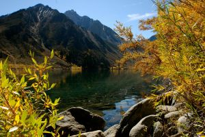 Convict Lake I by Attybomb