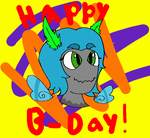 Birthday gift for CheerioBagel by Liam-the-art-lizard