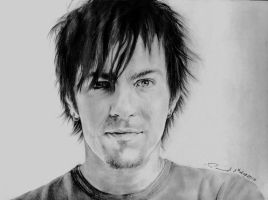 Adam Gontier by enigmatic-freak