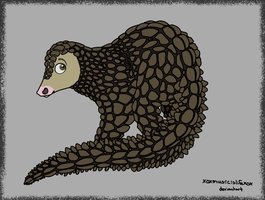 01. Giant Pangolin by xoXmusicislifeXox