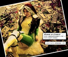 Rogue in Comics by HidaKuma