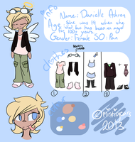 .:danielle reference summer/autumn 2013:. by MistiGears