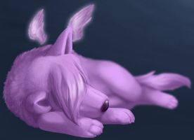 Napping Lunurai by Nikker
