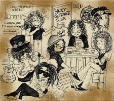 HairyGuitarists_Club by Dietlinde
