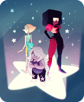 We Are the Crystal Gems by vern-argh