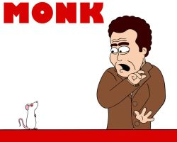 Mr. Monk and the Mouse by STRUDELL
