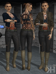 Jack Leather Pants and Top (XPS) by Grummel83
