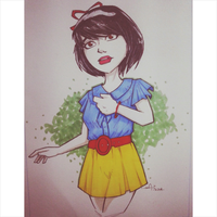17 Modern Snow White by kaicastle