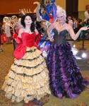 Queen of Hearts and Ursula by MaiseDesigns