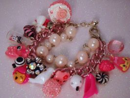 Princess Pinky Punk Toy Box Charm Bracelet by PoniesOfDOOOM