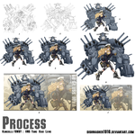 Kancolle x RWBY : Step by step process by dishwasher1910