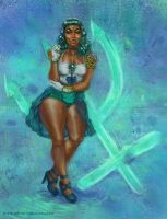 Odera Redesigns Sailor Neptune by Odyism