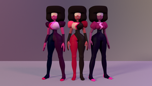 Garnet 3D Model Pack Download by revupthoselewds